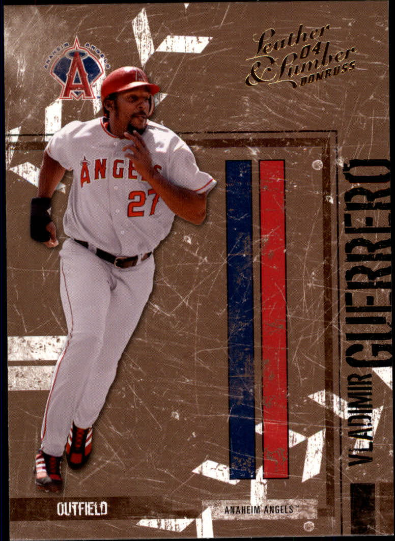2004 Leather and Lumber #5 Vladimir Guerrero