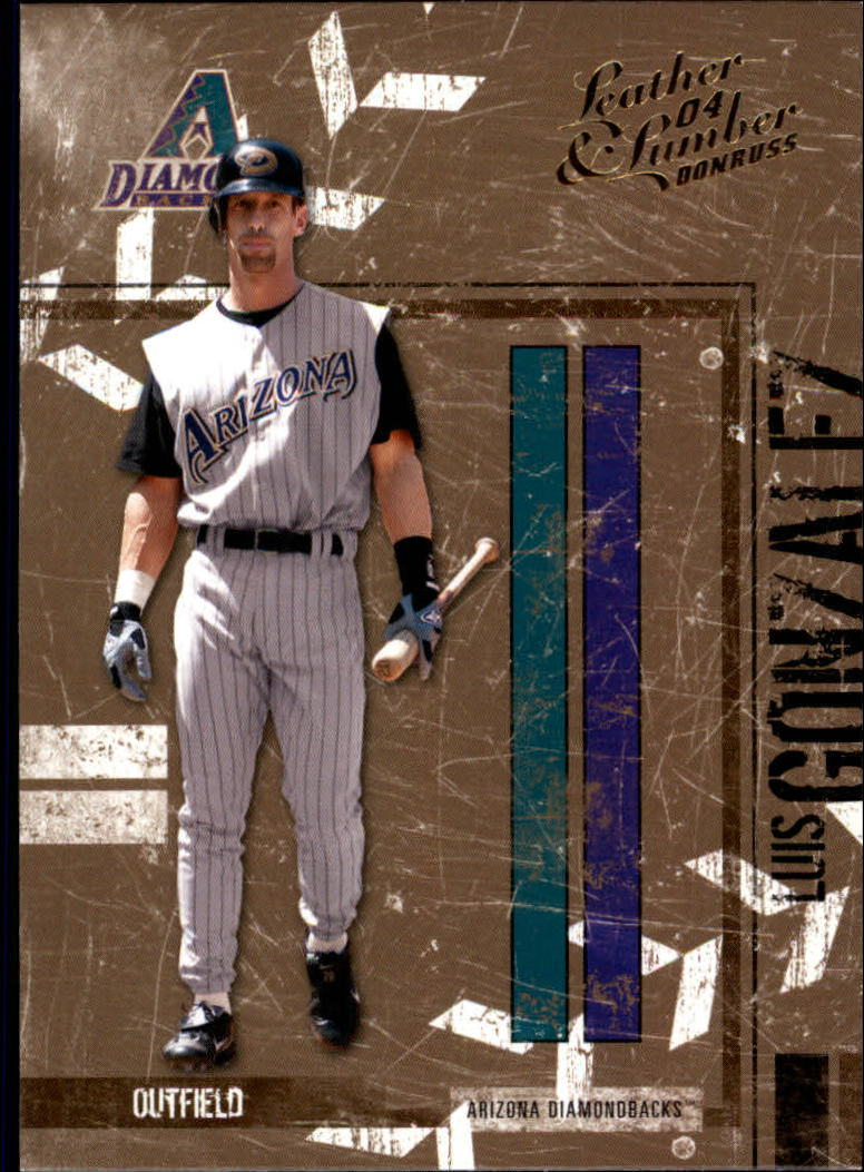 2004 Leather and Lumber #7 Luis Gonzalez