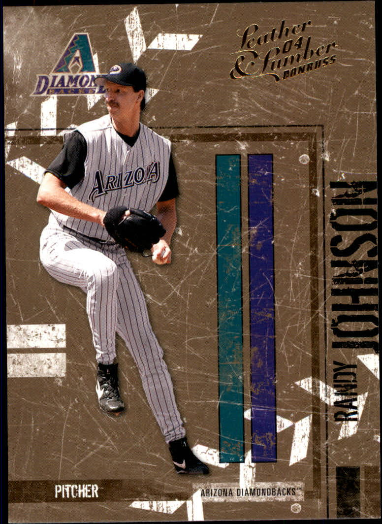2004 Leather and Lumber #8 Randy Johnson
