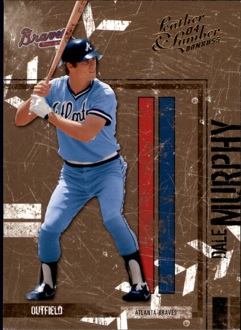 2004 Leather and Lumber #14 Dale Murphy
