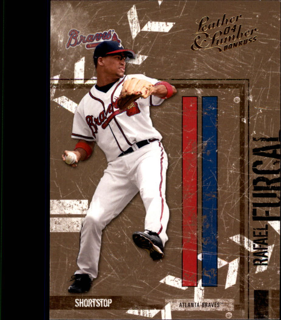 2004 Leather and Lumber #17 Rafael Furcal