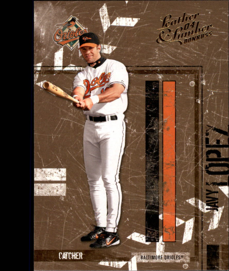 2004 Leather and Lumber #19 Javy Lopez