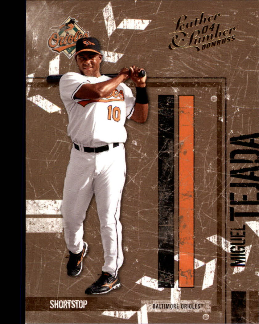 2004 Leather and Lumber #22 Miguel Tejada