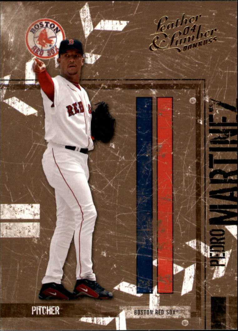 2004 Leather and Lumber #28 Pedro Martinez