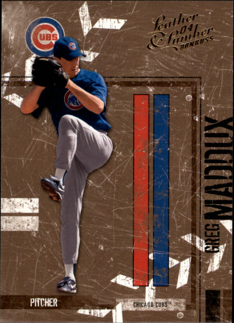 2004 Leather and Lumber #30 Greg Maddux