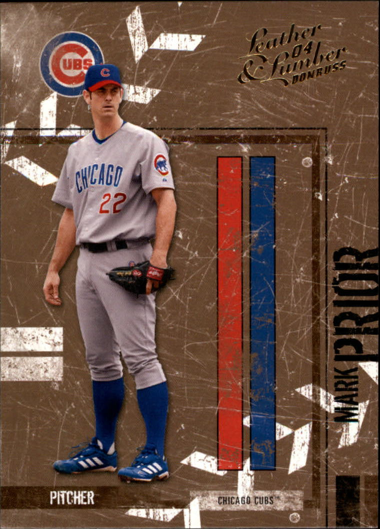 2004 Leather and Lumber #32 Mark Prior