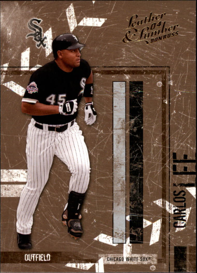 2004 Leather and Lumber #35 Carlos Lee