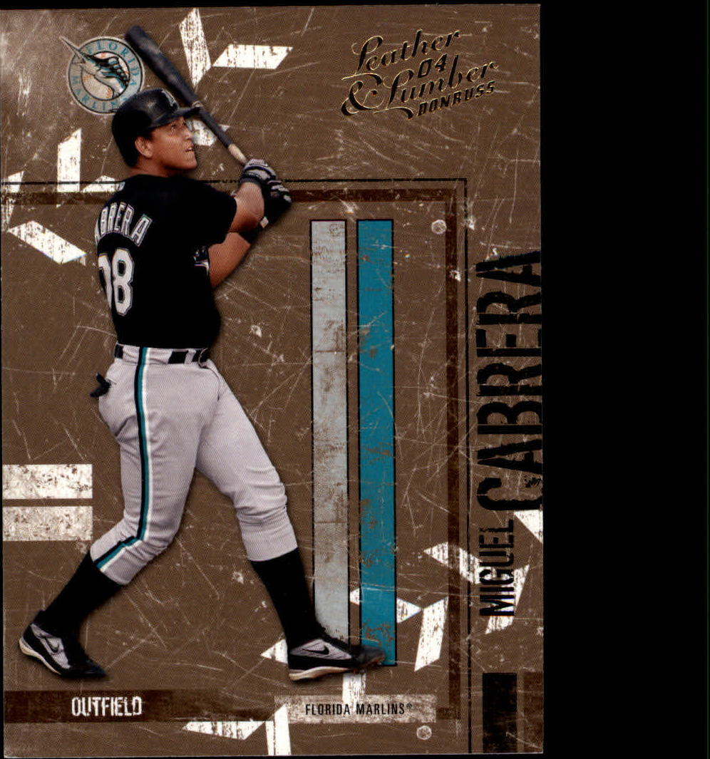 2004 Leather and Lumber #56 Miguel Cabrera