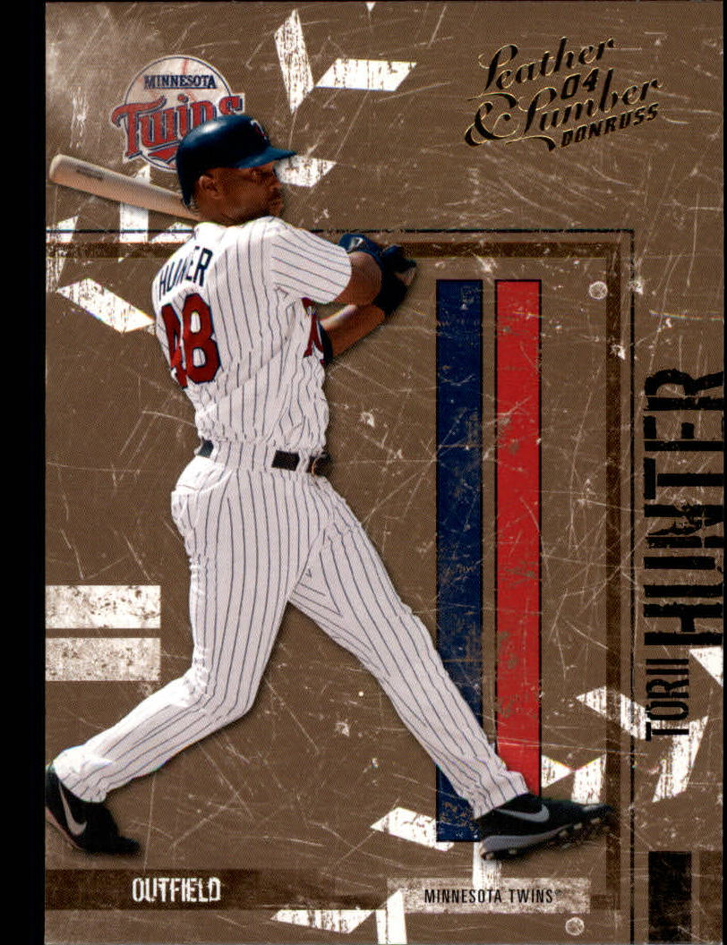 2004 Leather and Lumber #83 Torii Hunter