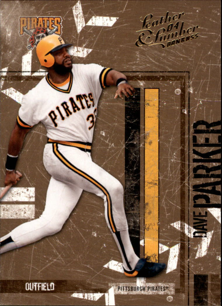2004 Leather and Lumber #118 Dave Parker