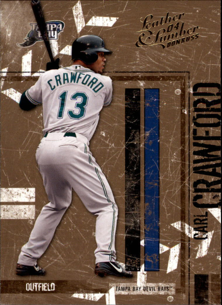 2004 Leather and Lumber #139 Carl Crawford