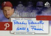 2004 SP Authentic Chirography Hall of Famers #RR Robin Roberts Hall of Famer