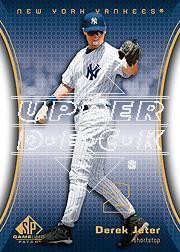 2004 SP Game Used Patch #58 Derek Jeter