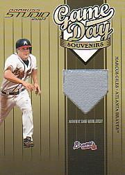 2004 Studio Game Day Souvenirs Number #2 Troy Glaus Jsy/300