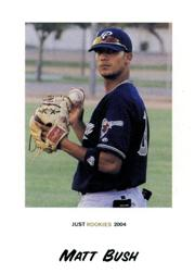 2004 Just Rookies #13 Matt Bush