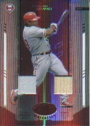 2004 Leaf Certified Materials Mirror Combo Red #135 Marlon Byrd Bat-Jsy