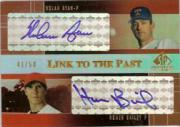 2004 SP Prospects Link to the Past Dual Autographs #RB Nolan Ryan/Homer Bailey