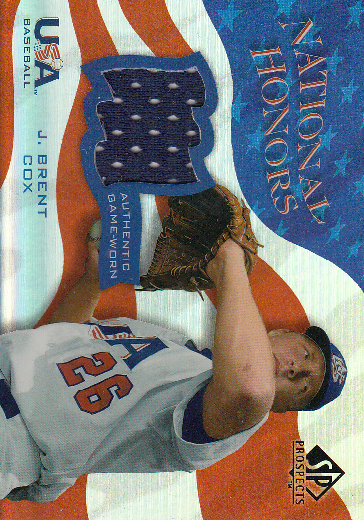 2004 SP Prospects National Honors USA Jersey #TT Troy Tulowitzki