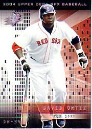 2004 SPx #71 David Ortiz