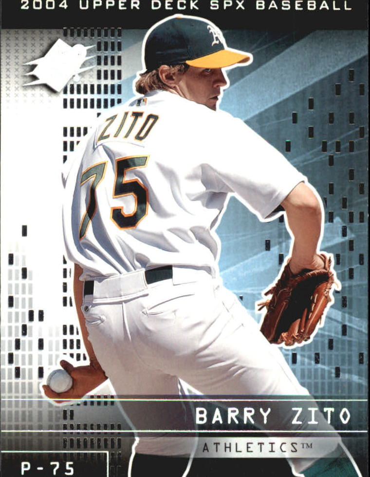 2004 SPx #75 Barry Zito