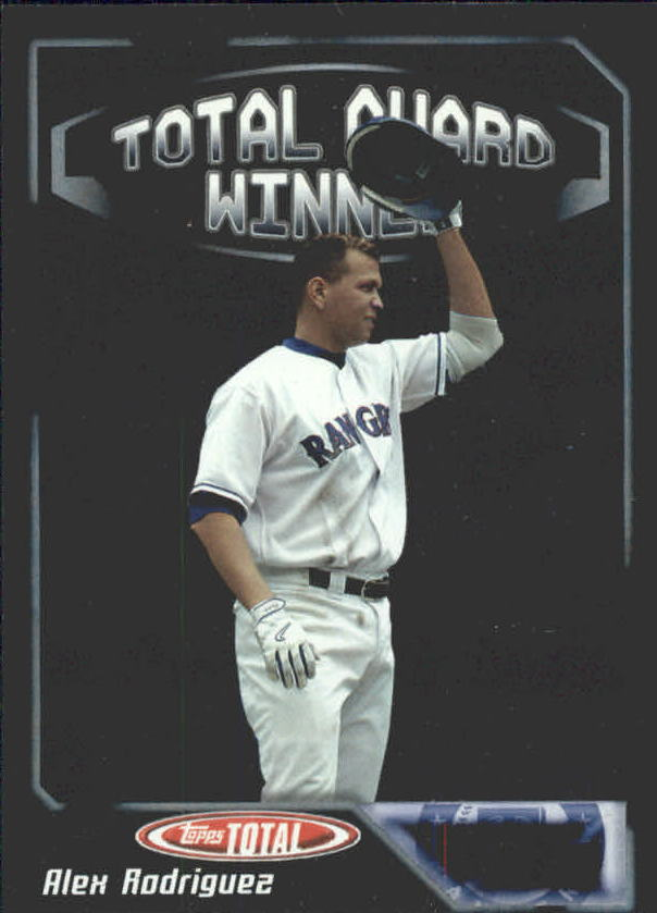 2004 Topps Total Award Winners #AW3 Alex Rodriguez MVP