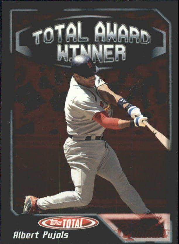 2004 Topps Total Award Winners #AW4 Albert Pujols POY