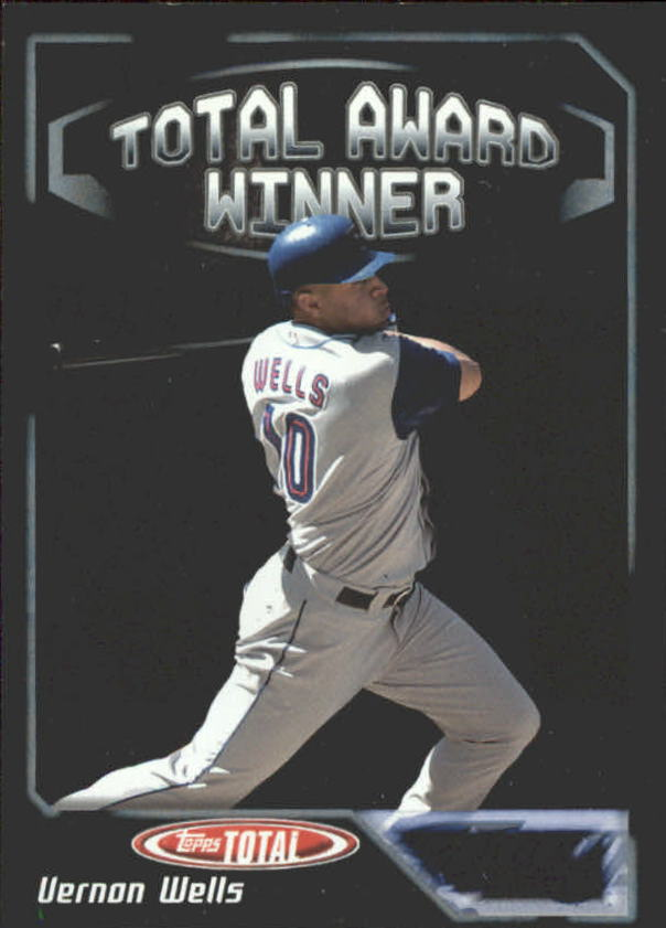 2004 Topps Total Award Winners #AW19 Vernon Wells SS