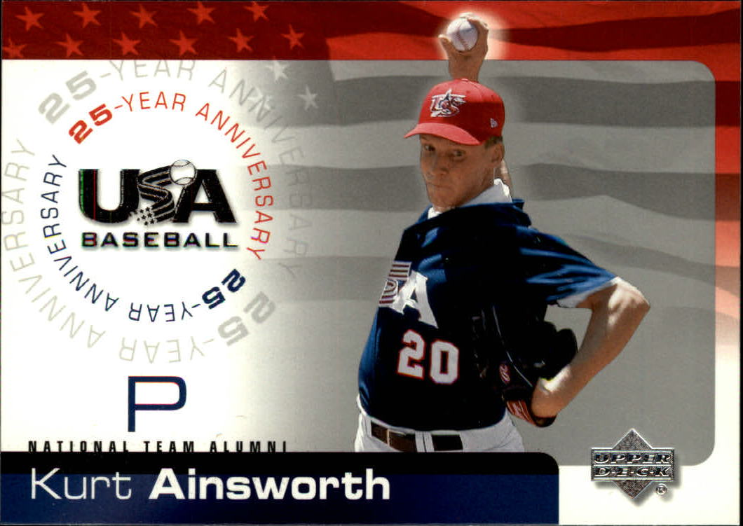 2004 USA Baseball 25th Anniversary #3 Kurt Ainsworth