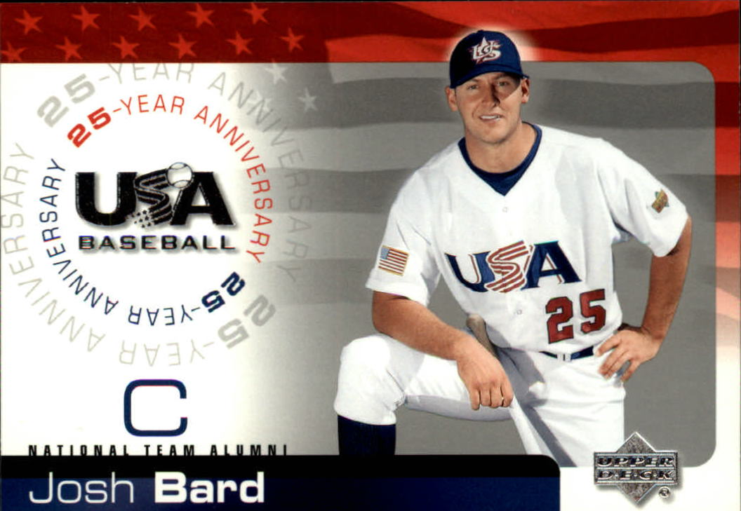 2004 USA Baseball 25th Anniversary #9 Josh Bard