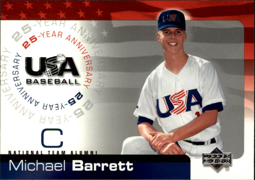 2004 USA Baseball 25th Anniversary #10 Michael Barrett