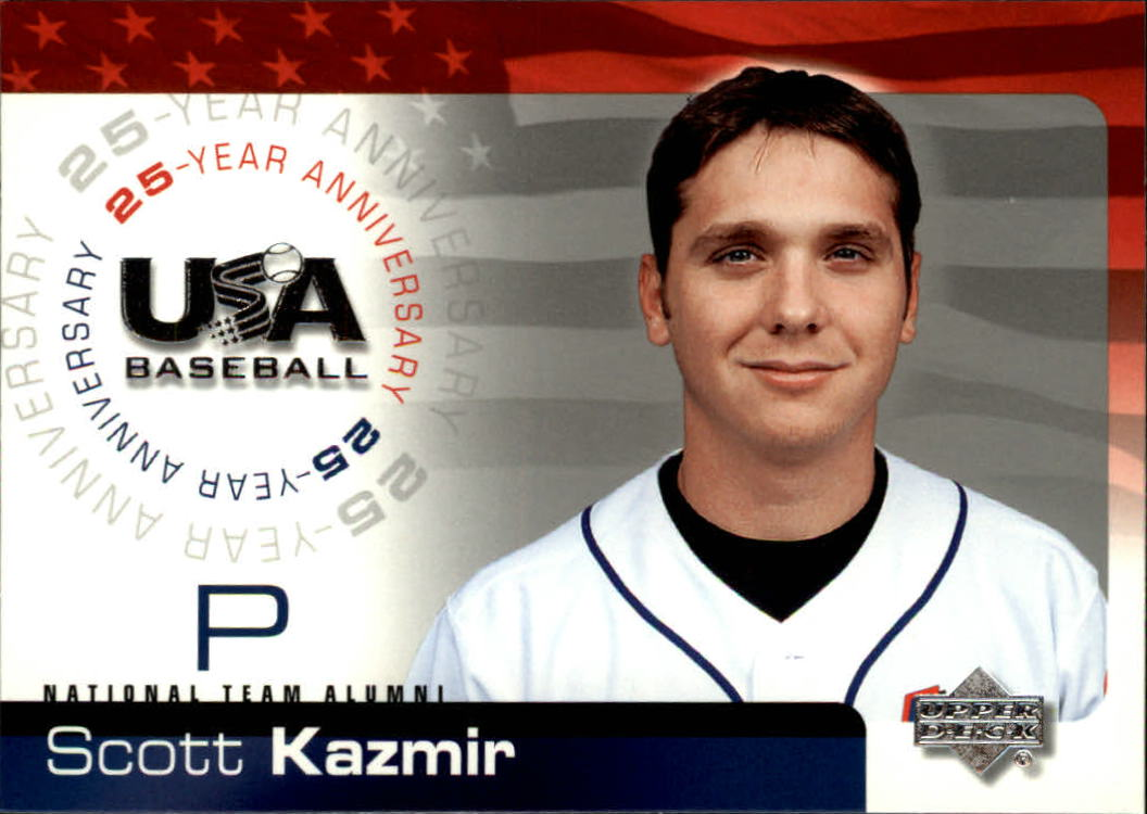 2004 USA Baseball 25th Anniversary #99 Scott Kazmir front image