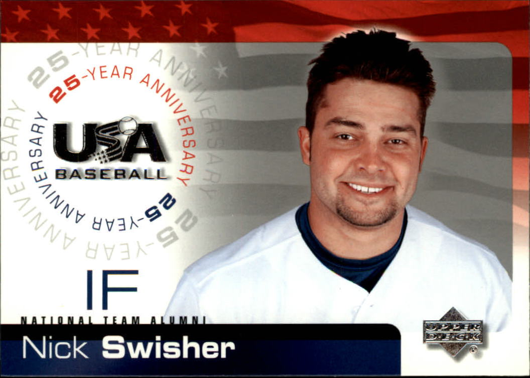 2004 USA Baseball 25th Anniversary #105 Nick Swisher