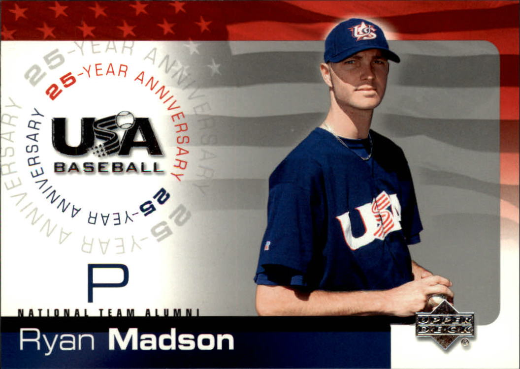 2004 USA Baseball 25th Anniversary #118 Ryan Madson