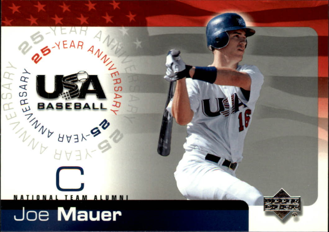 2004 USA Baseball 25th Anniversary #121 Joe Mauer