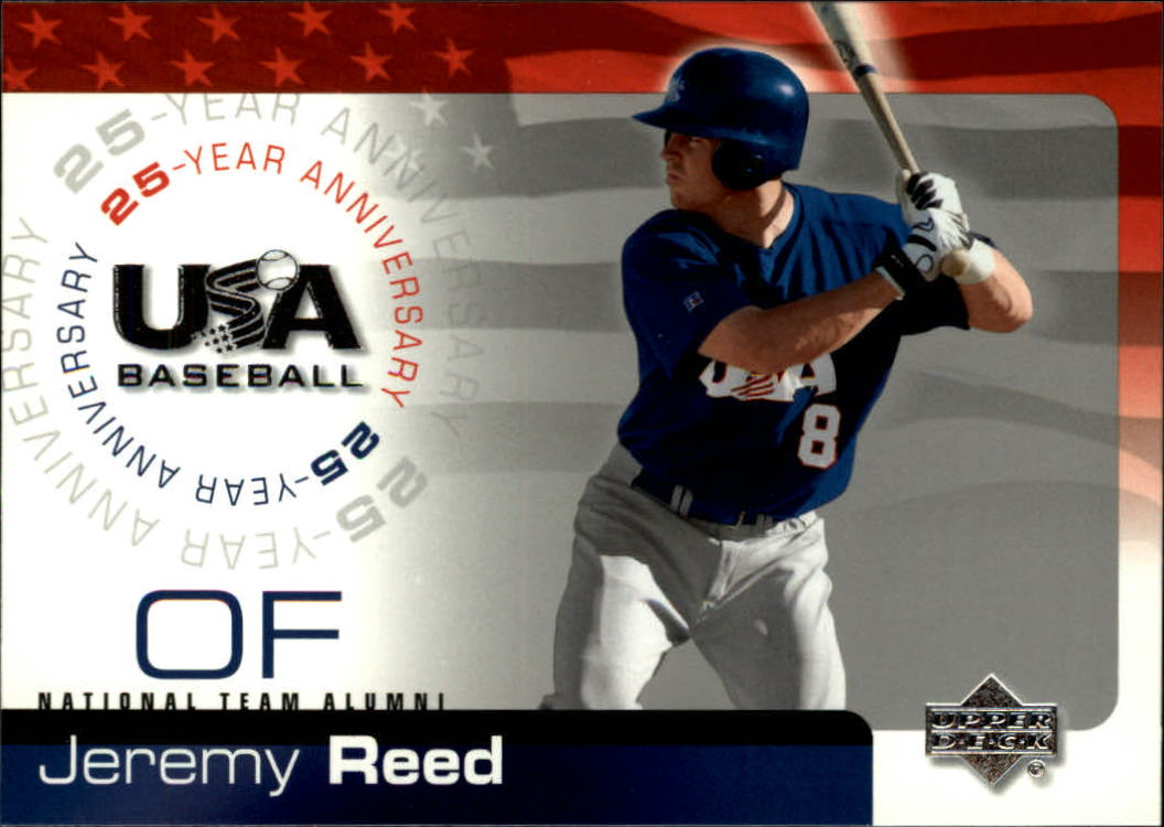 2004 USA Baseball 25th Anniversary #149 Jeremy Reed