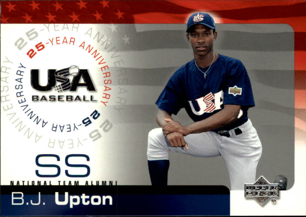 2004 USA Baseball 25th Anniversary #180 B.J. Upton