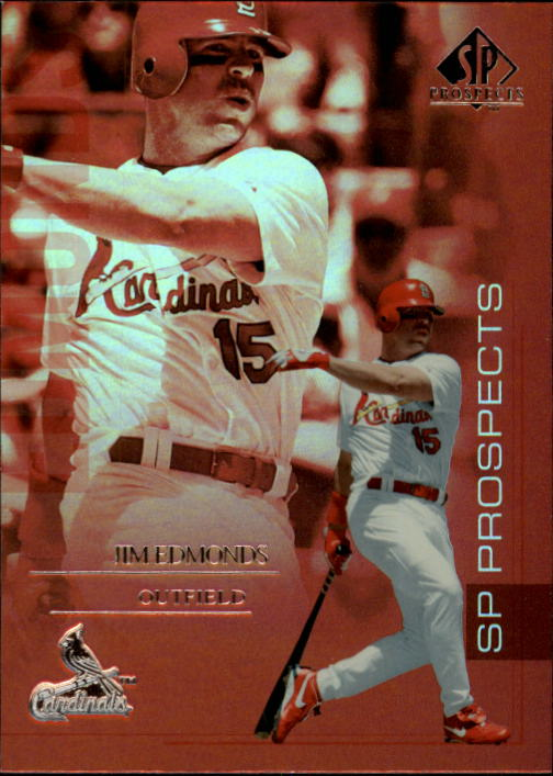 2004 SP Prospects #18 Jim Edmonds