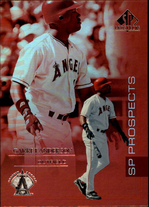 2004 SP Prospects #52 Garret Anderson
