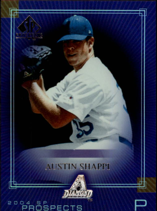 2004 SP Prospects #252 Austin Shappi RC