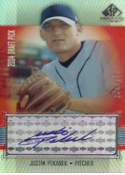 2004 SP Prospects #432 Justin Pekarek AU/400 RC