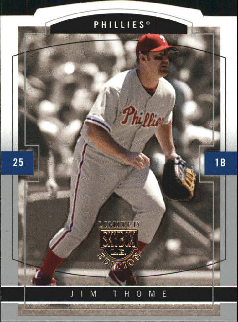 2004 SkyBox LE #25 Jim Thome