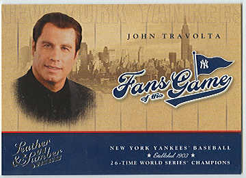 2004 Leather and Lumber Fans of the Game #1 John Travolta