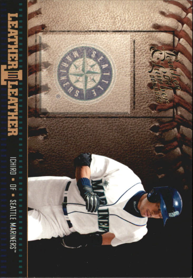 2004 Leather and Lumber Leather in Leather #5 Ichiro Suzuki BB
