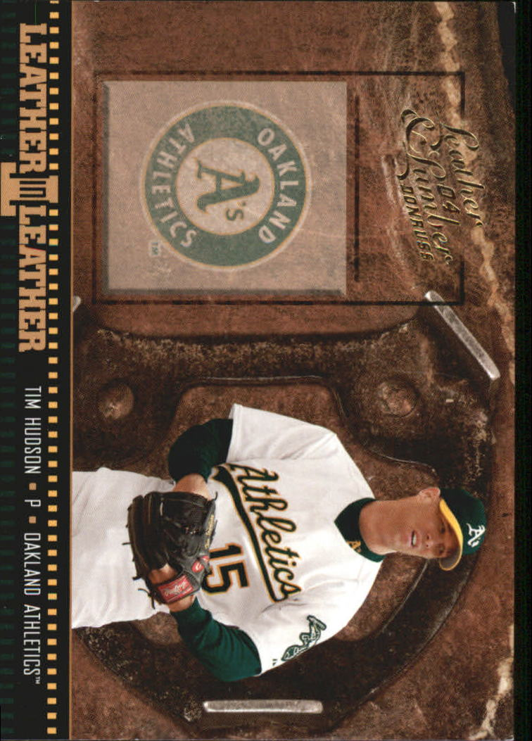 2004 Leather and Lumber Leather in Leather #40 Tim Hudson SH