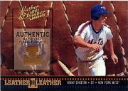 2004 Leather and Lumber Leather in Leather Materials #26 Lenny Dykstra Fld Glv/50