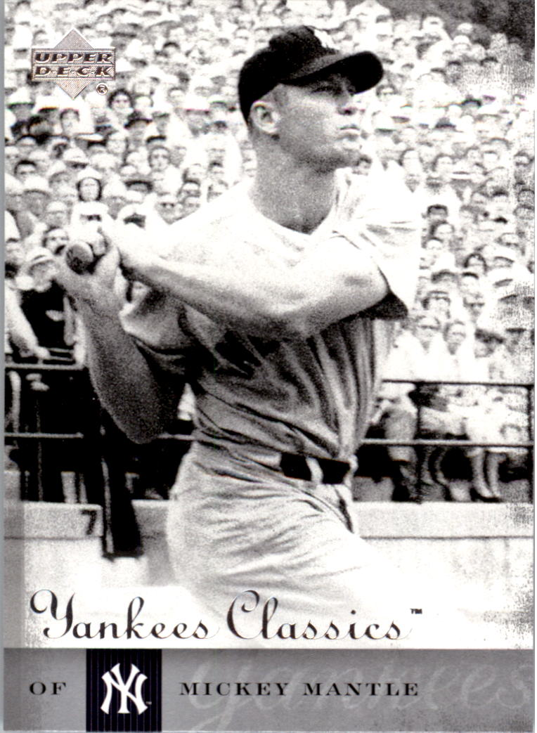 2004 UD Yankees Classics #81 Mickey Mantle