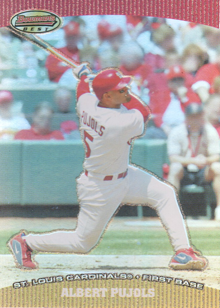 2004 Bowman's Best #AP Albert Pujols