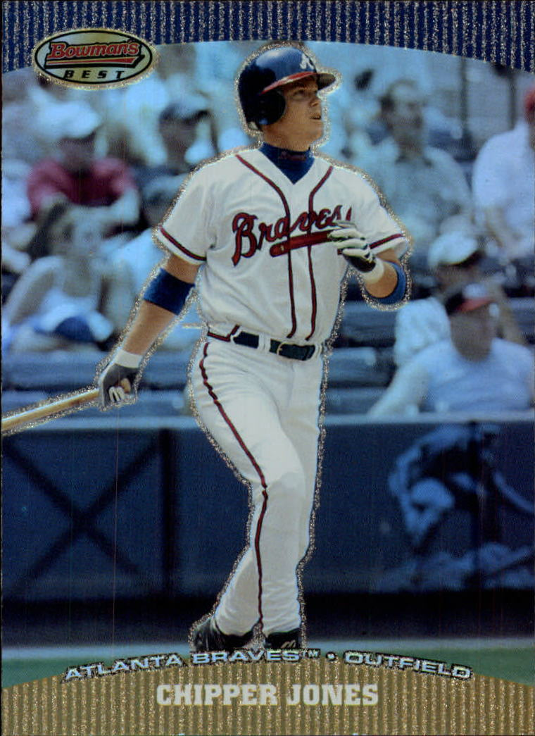 2004 Bowman's Best #LWJ Chipper Jones