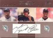 2004 Classic Clippings Phenom Lineup Autograph Silver #MC M.Cabrera w/Cast-Lowell