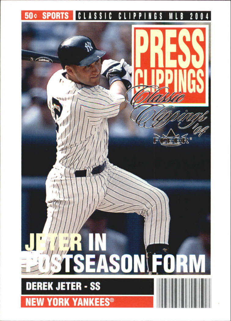 2004 Classic Clippings Press Clippings #3 Derek Jeter
